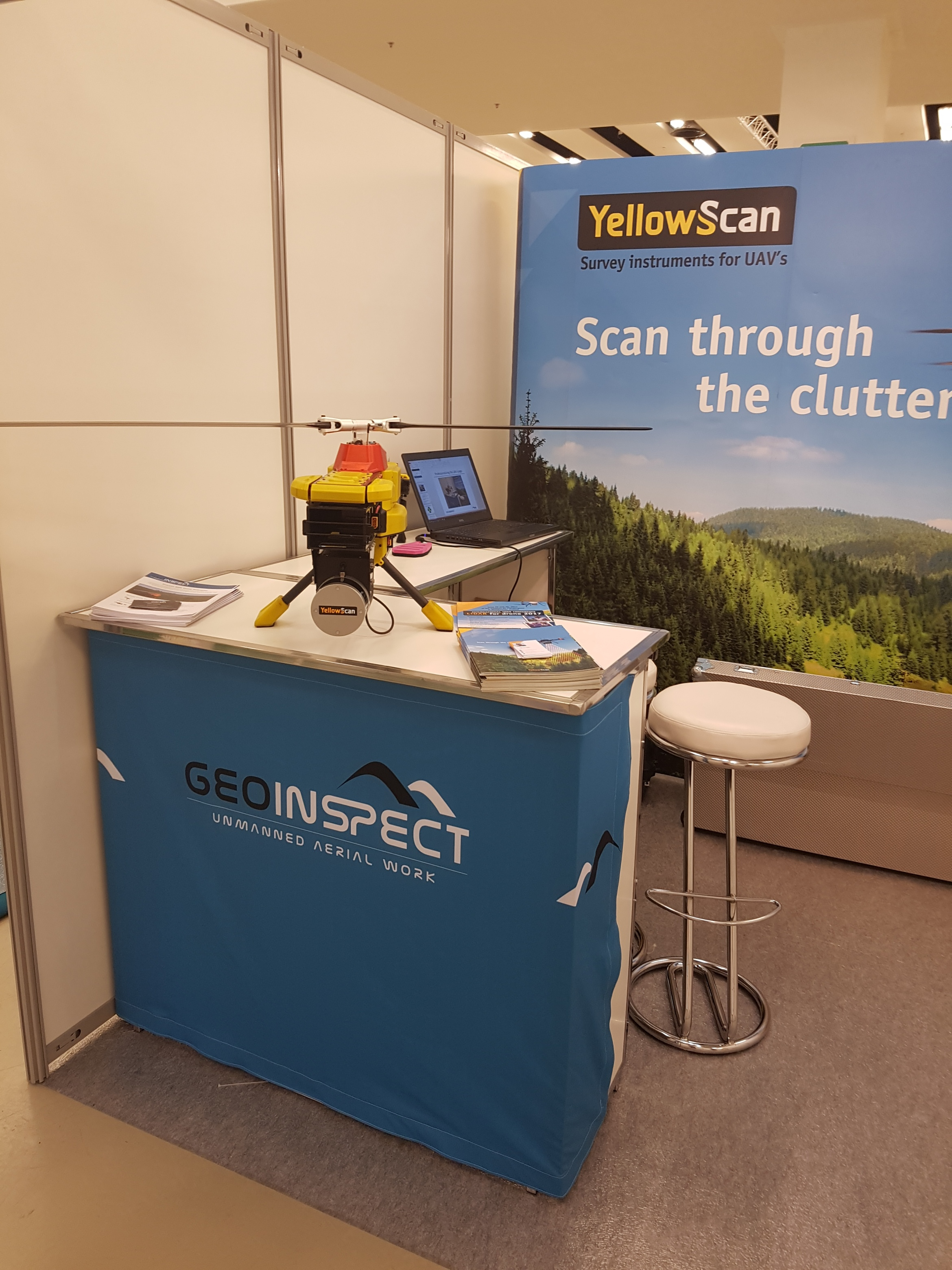 GeoInspect Brussels Booth